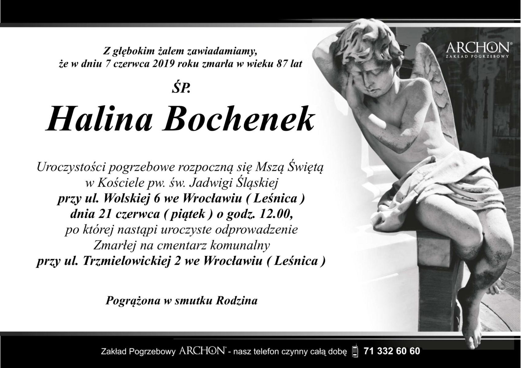 Śp. Halina Bochenek-1