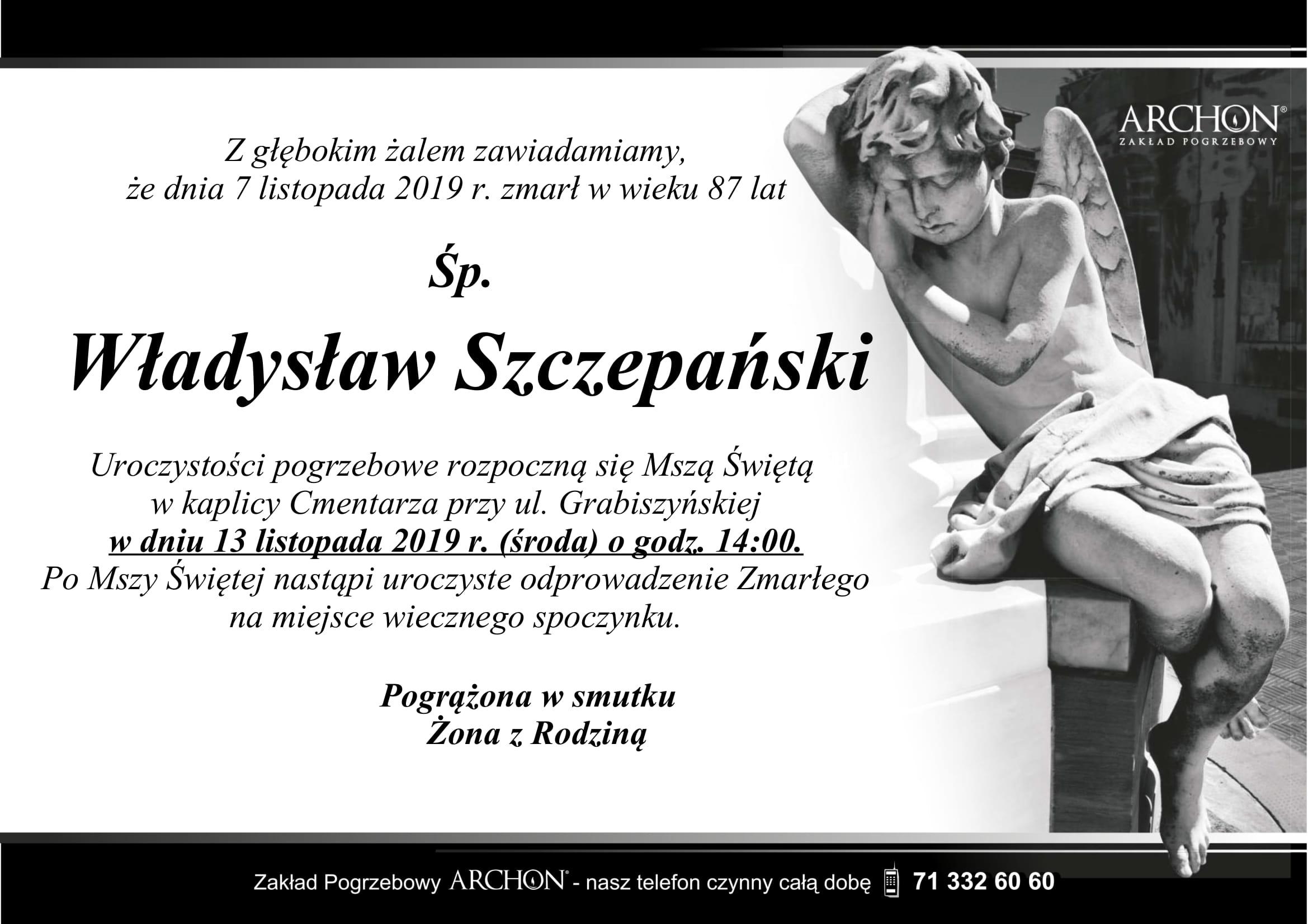 Śp. Władysław Szczepański-1