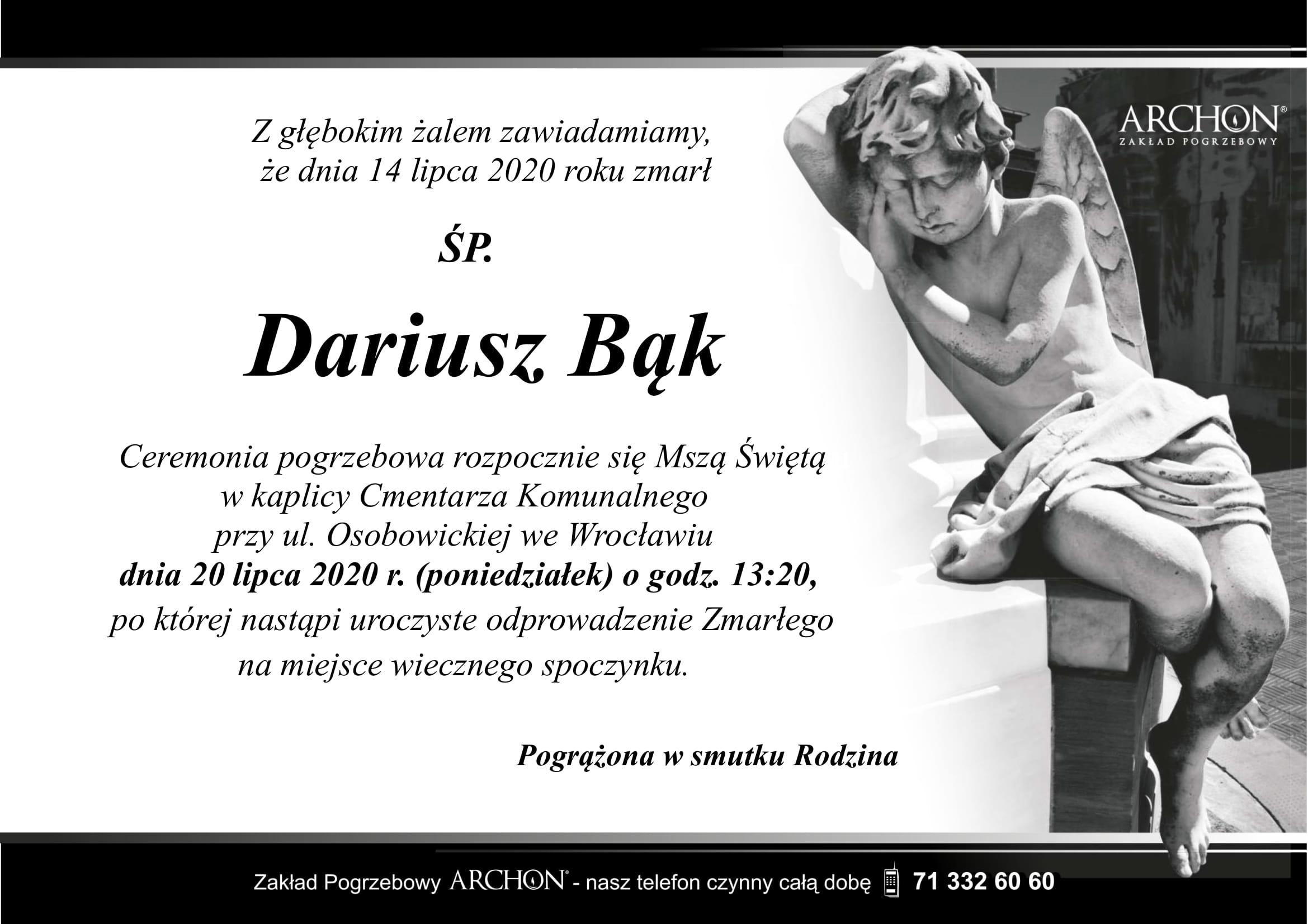 Śp. Dariusz Bąk-1