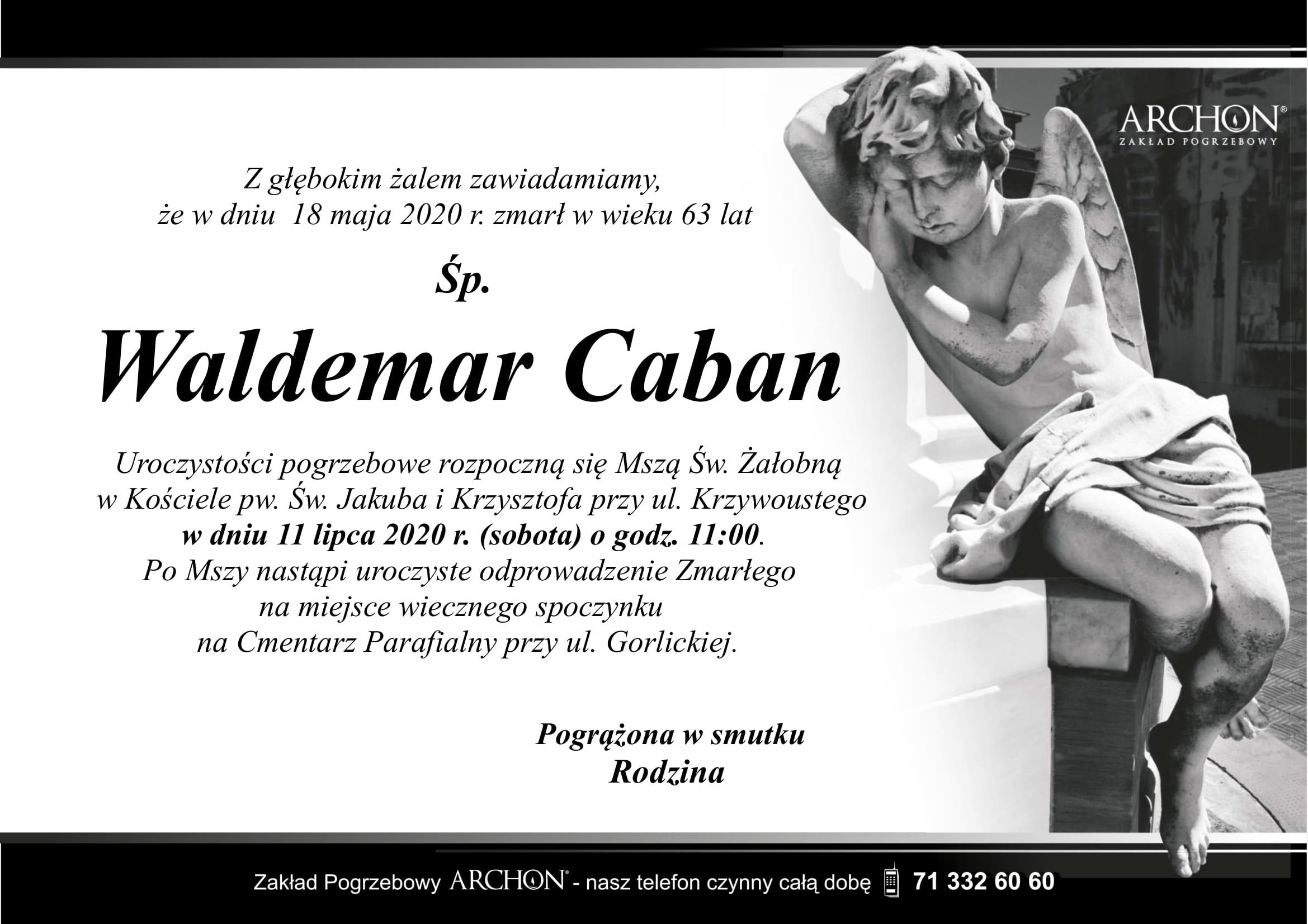 WALDEMAR CABAN-1